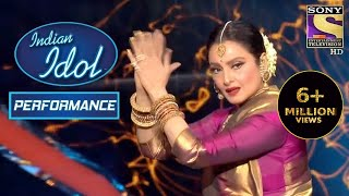 Rekha जी ने दिया एक मदहोश कर देने वाला Performance | Indian Idol Season 12