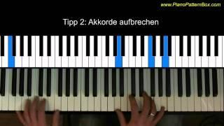 Klavier-Begleitfiguren selber erstellen