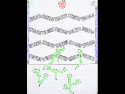Video of Free Scribble Worm