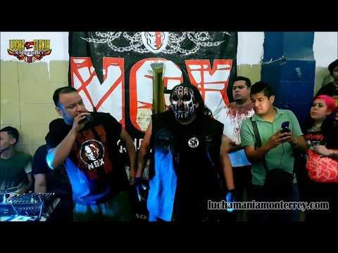 NGX: Damian 666 y Core vs. Byron y Ultimo Gladiador 14 de Julio 2018