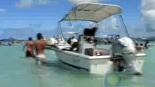 preview picture of video 'Kaneohe Sandbar - August 31, 2008'
