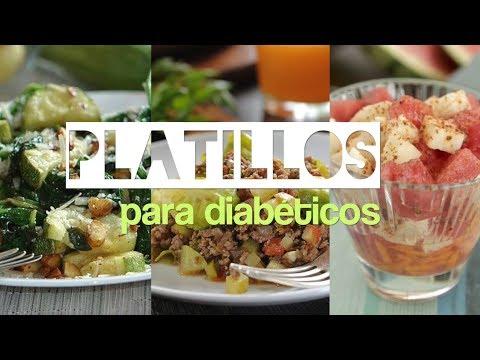 Dieta con diabetes tipo 2 cada día