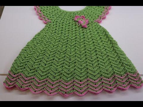 206f9991c Vestido Crochet para Niña - Crochet Bralette