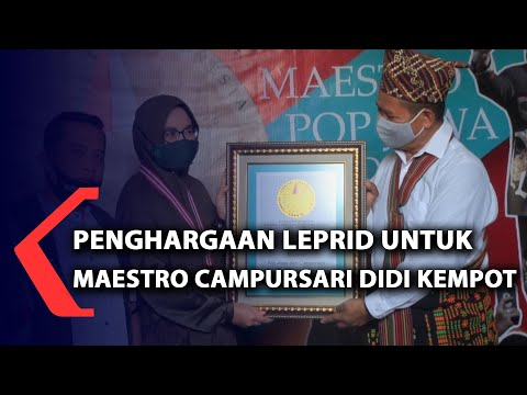 penghargaan leprid untuk maestro campursari didi kempot