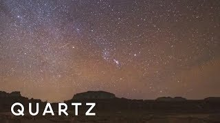 How light pollution affects stars in the night sky