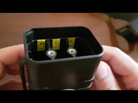 XANES 8.4V Waterproof Plastic 18650 Battery Box 6 Section - Unboxing