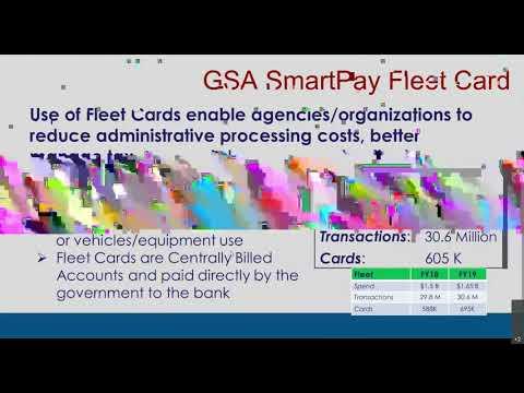 GSA SmartPay Fleet Management Essentials - YouTube