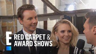 Kristen Bell & Dax Shepard Get Cute At 2017 Golden Globes  E Live From The Red Carpet