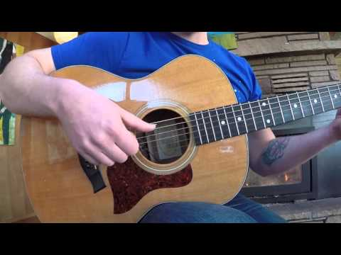 First Finger Picking Guitar Lesson-Blackforrest Beginning Guitar Series #5
