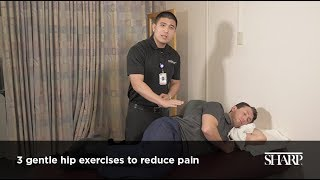 3 Stretches to Reduce Hip Pain