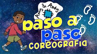 Amy y Andy coreografia de la canciòn Paso a Paso. Música cristiana. Escuela dominical