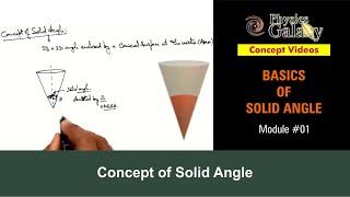 1. Physics | Solid Angle | Concept of Solid Angle | by Ashish Arora