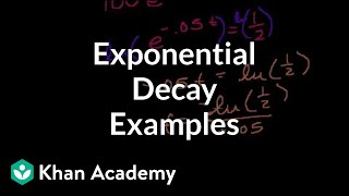 More Exponential Decay Examples