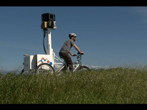 Google Adds Trike To Street View Arsenal