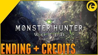 Monster Hunter World Ending and Credits