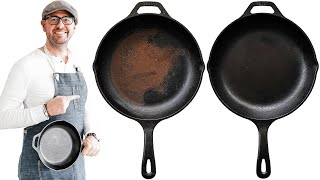 How to Restore, Season and Clean a Cast Iron Skillet