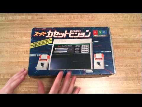 Nice and Games -- Super Cassette Vision  (system overview)