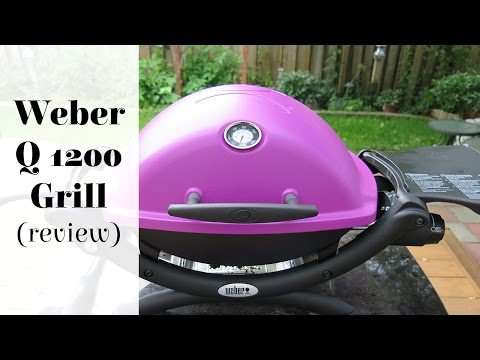 Weber Q 1200 Portable Grill Review