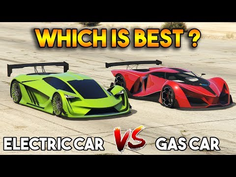 GTA 5 ONLINE : ELECTRIC CAR VS GASOLINE CAR (WHICH IS BEST?)