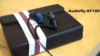 Audiofly AF180 In-Ear-Monitor Review: Sweet Listening