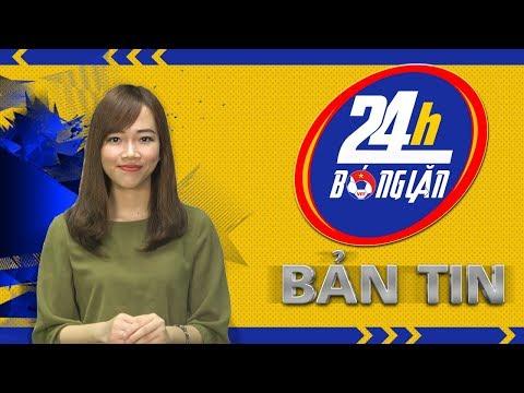 24h BÓNG LĂN SỐ 10   Hà Nội độc chiếm ngôi đầu BXH NutiCafe V.League 2018   VFF Channel