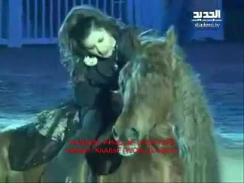 حسام خلاف  الضوء الشارد وعرض بالحصان