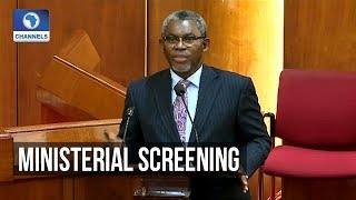 Senate Screens Olamilekan Adegbite