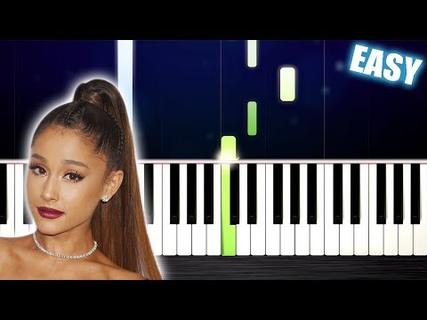 Ariana Grande - break up with your girlfriend, i'm bored - EASY Piano Tutorial by PlutaX