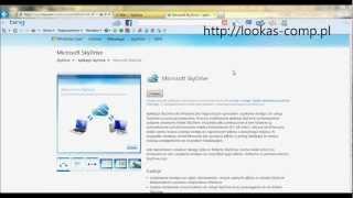 preview picture of video 'Instalacja i konfigurowanie aplikacji Microsoft SkyDrive.wmv'