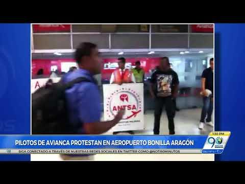 Sin contratiempos se realizó la protesta de pilotos en aeropuerto Alfonso Bonilla
