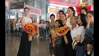 👑  HOT 👑 Tân Hoa hậu Tiểu Vy hạnh phúc trở về trong vòng tay bố mẹ và người dân Quảng Nam