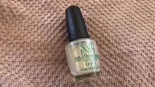 Review: O.P.I Original Nail Envy Nail Strengthener