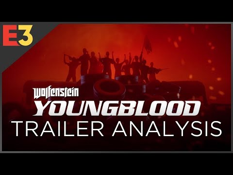 Wolfenstein: Youngblood TRAILER ANALYSIS   Polygon @ E3 2018
