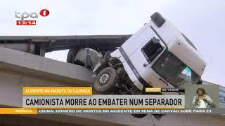 Camionista morre ao embater num separador