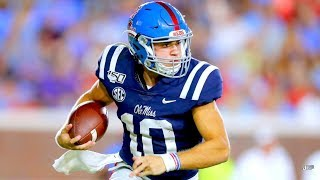 FASTEST QB in the SEC ⚡️ || Ole Miss QB John Rhys Plumlee 2019 Highlights ᴴᴰ
