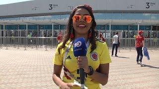 Фанаты Колумбии и Японии встретились в Саранске!