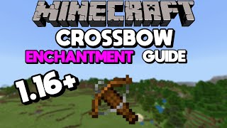 1.16 Crossbow Enchantment Guide (Best Crossbow in Minecraft)