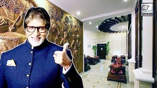 Inside Pictures Of Amitabh Bachchan's House Jalsa | Lehren Diaries