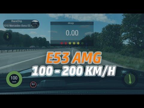 BMW 535d STOCK 313HP vs RACECHIP 362HP | 0-230km/h