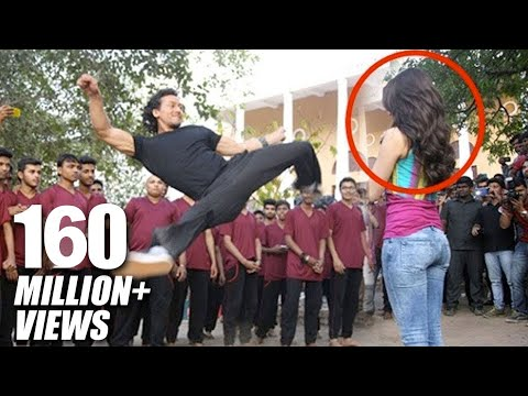 Tiger Shroff's Amazing Stunt With Shraddha Kapoor For Baaghi Promotions