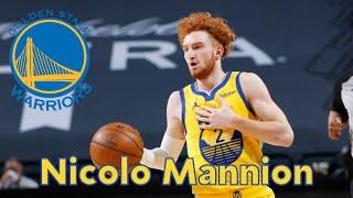 <p>Nicolo Mannion - Golden State Warriors</p>