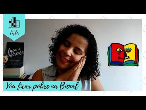 BIENAL DO LIVRO 2018: LIVROS NACIONAIS QUE QUERO COMPRAR | VEDA #01