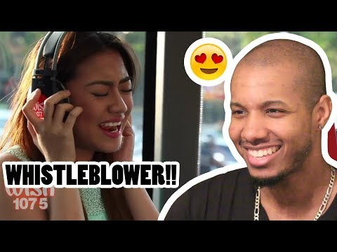 MORISSETTE AMON  COVERS CHANDELIER (SIA) ON WISH FM 107.5 BUS REACTION