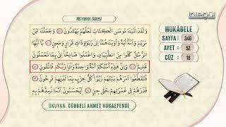 Cübbeli Ahmet Hocaefendi ile Mukâbele 18. Cüz