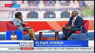 Elewa Sheria: Haki za wanafunzi nchini