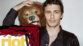 James Franco gets pre-Roasted from the red carpet