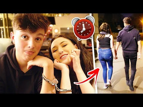 i was HANDCUFFED to my EX GIRLFRIEND for 24 HOURS.. {SHOCKING} ⏰