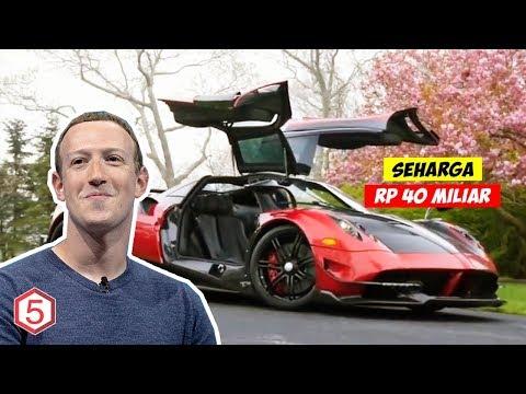 Mengintip Mobil Pribadi Termahal Di Dunia Dan Para Pemiliknya , Termasuk Bos Facebook
