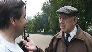 London. Hyde Park. An Elderly Englishman