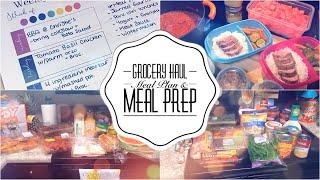 GROCERY HAUL   MEAL PREP   MEAL PLAN